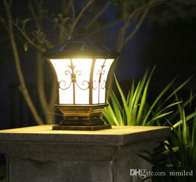 Discount solar post lights outdoor post lighting landscaping solar discount solar post lights outdoor post lighting landscaping solar led garden lamp post lamps warm white cold white color light sensor functions llfa from mozeypictures