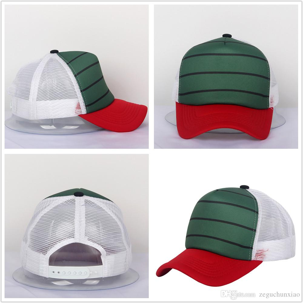 New Vogue High Quality Sbulimation Snapback Trucker Hat Red Blue White  Pattern Multi Colors Polyester Suitable For Men And Women Custom Trucker  Hats Compton ... b9f3e24580e2