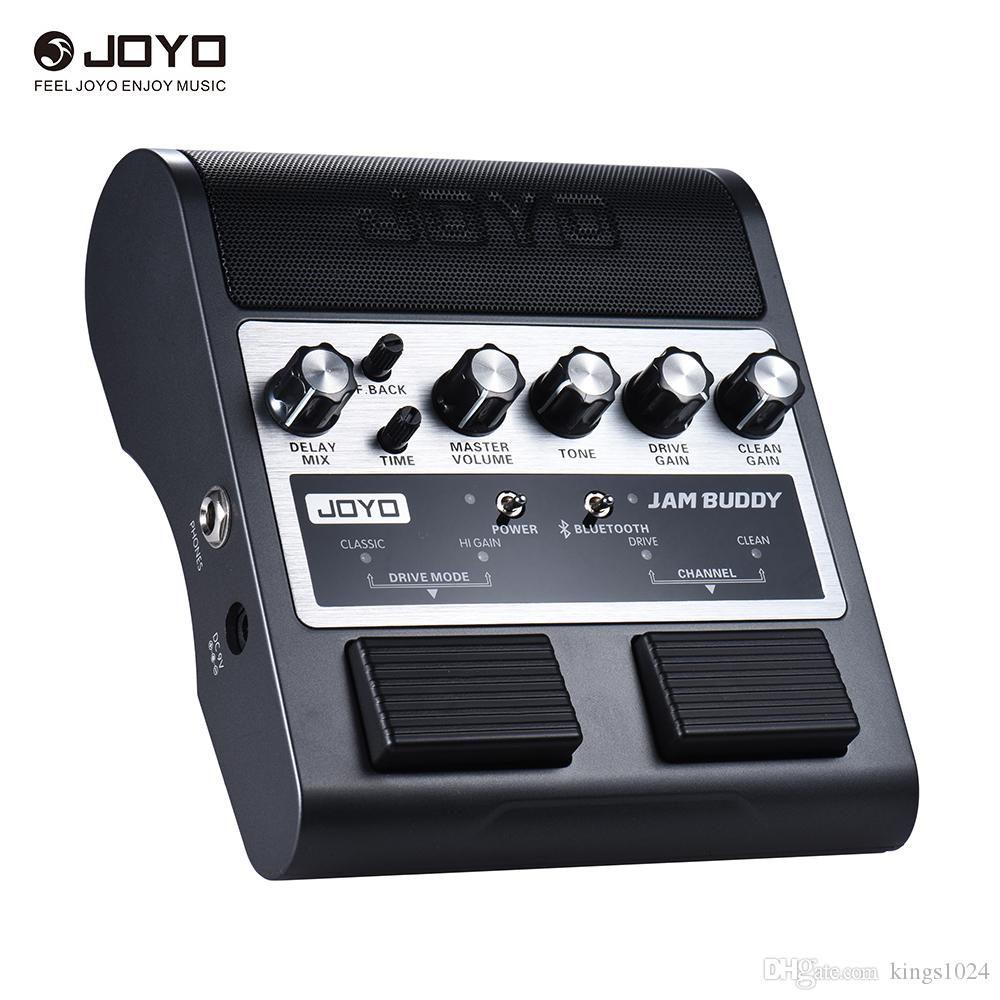 2019 joyo jam buddy rechargeable bluetooth 4 0 dual channel 2 4w pedal style guitar amplifier. Black Bedroom Furniture Sets. Home Design Ideas