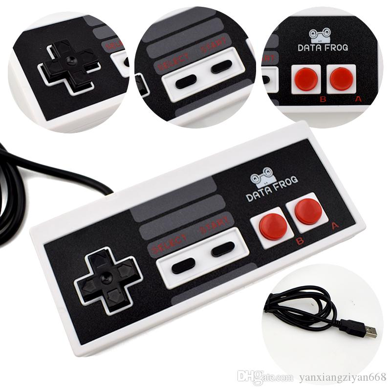 Best selling USB Controller Game Gamerpad For NES Windows PC for MAC Computer Game Controller Gamepad YX-NES-01
