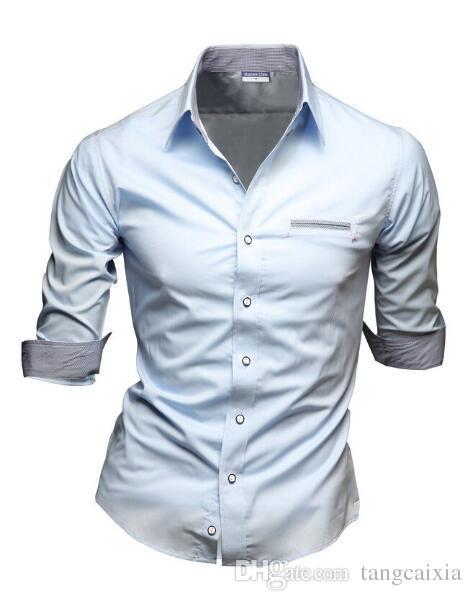 814785ef297b Wholesale free shipping summer men's short sleeve shirt casual fashion  dress shirts for men slim fit white half sleeve size L-3XL