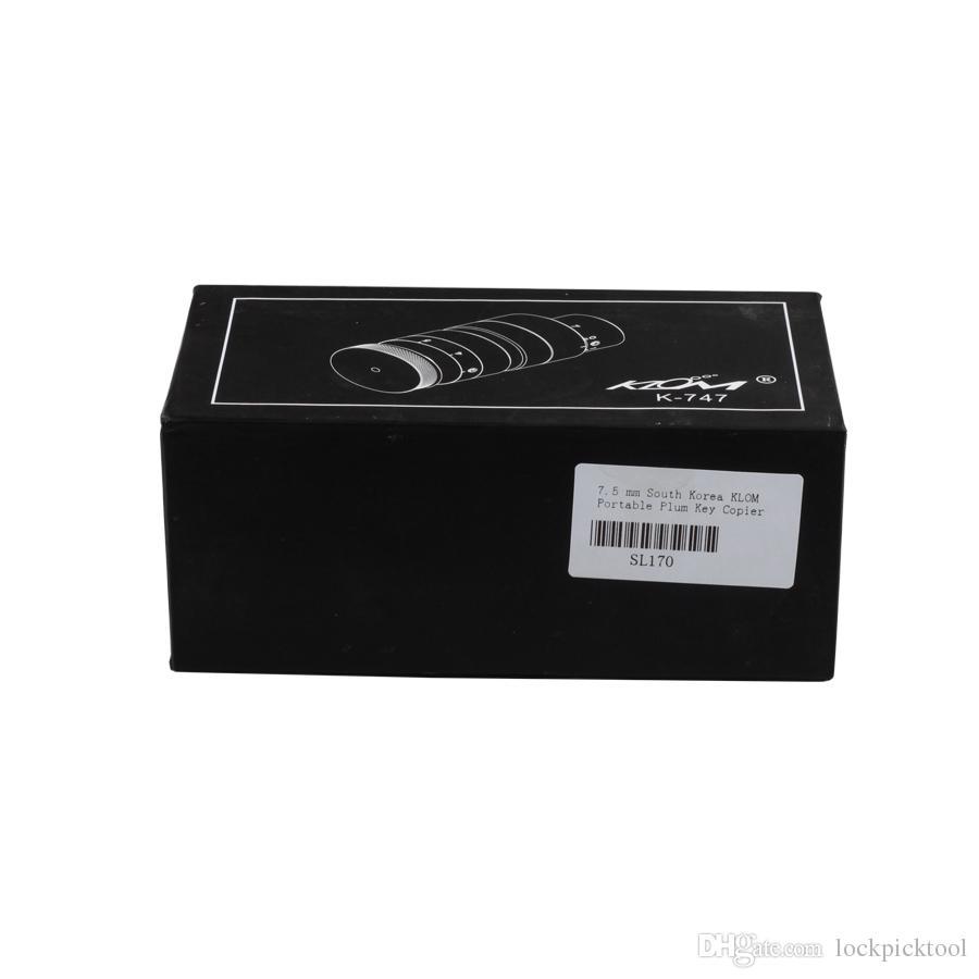 7.5 مم كوريا الجنوبية KLOM المحمولة البرقوق مفتاح ناسخة العلامة التجارية أدوات الأقفال شحن مجاني