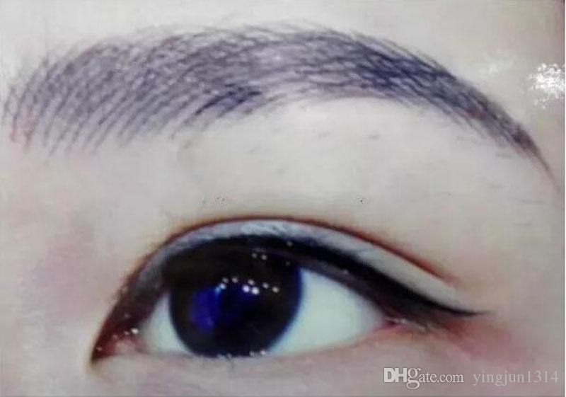 Hot silver professional permanent makeup pen 3D embroidery makeup manual pen tattoo eyebrow microblade