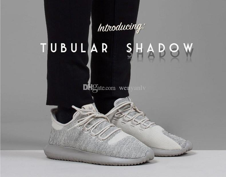 5a73a9149757f 2019 36 45 Originals Y 3 Tubular Shadow Knit Running Shoes For Men ...