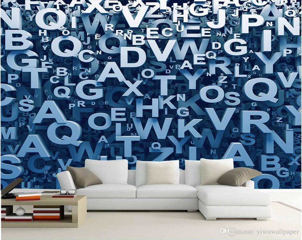 Acheter De Luxe Europeen Moderne En Trois Dimensions Alphabet