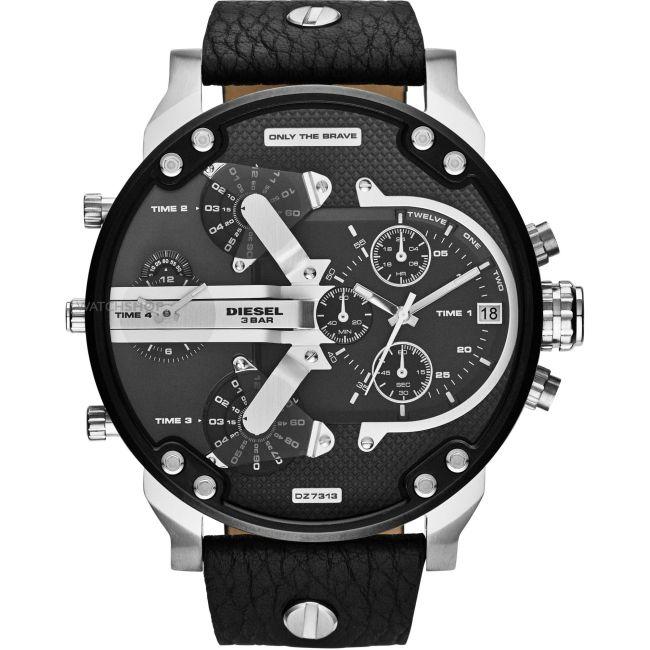 2017 Luxury brand DZ Men Watches montre Leather Strap Quartz Watch reloj hombre Military Sports Male Clock relogio For Men