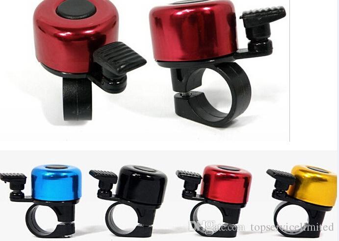 Велосипед кадр мини небольшой металлическое кольцо руль колокол звук рога Рога для велосипедов Велоспорт Бесплатная доставка