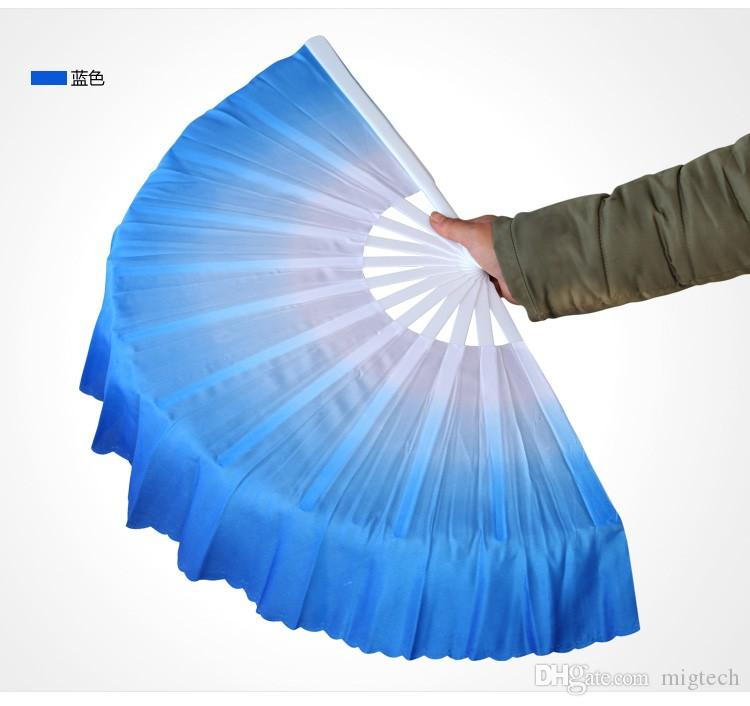 Neue chinesische Seide Tanz Fan handgemachte Fans Bauchtanz Requisiten 6 Farben erhältlich Drop Shipping Heißer Verkauf