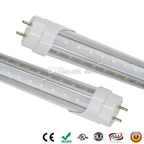 6ft Led Tube Lights V Shape 42w Led Tubes Fixture 6 Feet 1800mm G13 ...