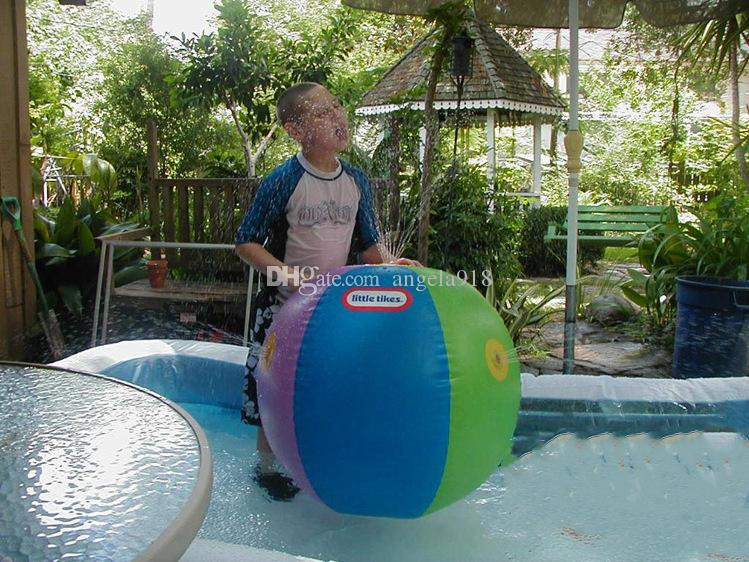2017 Estate Gonfiabile Acquazzone aerostatico All'aperto Giocare in acqua Beach ball Palla giocattolo bambini C1992