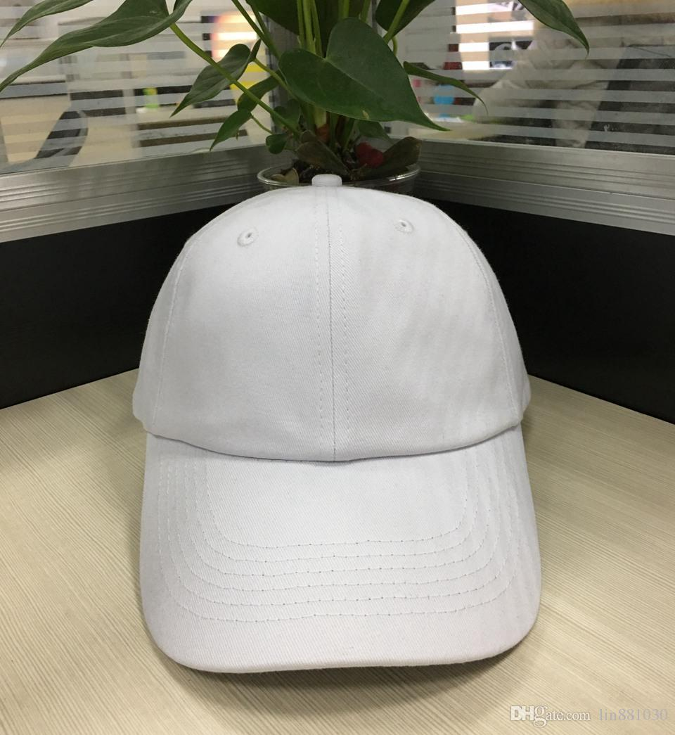 6 Panel Plain Baseball Cap Hip Hop Adjustable Blank Snapback Hat For Men  Women Black White Hiking Fishing Cap Fitted Trucker Hat Baby Caps 47 Brand  Hats ... 8780a13a0d6