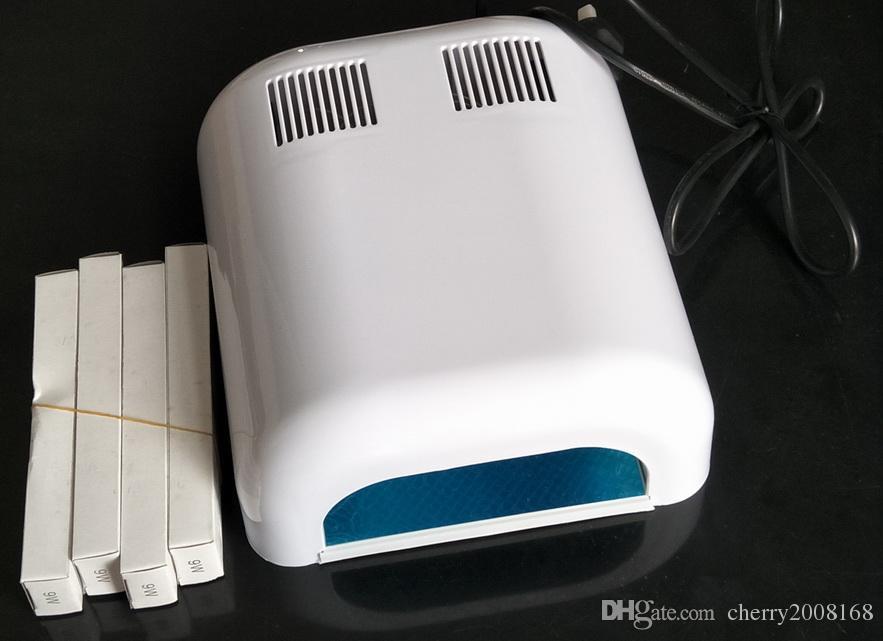 36W UV Turcuring Lampe Acrylique Gel Salon Sèche-clés Timer PRO SPA Equipment