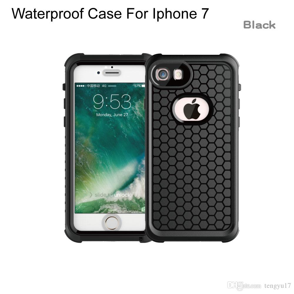 2017 Newest Thin Detachable Dual-Purpose Waterproof Dustproof Mobile Phones Shell Case Protecting Back Cover For IPhone7 7plus