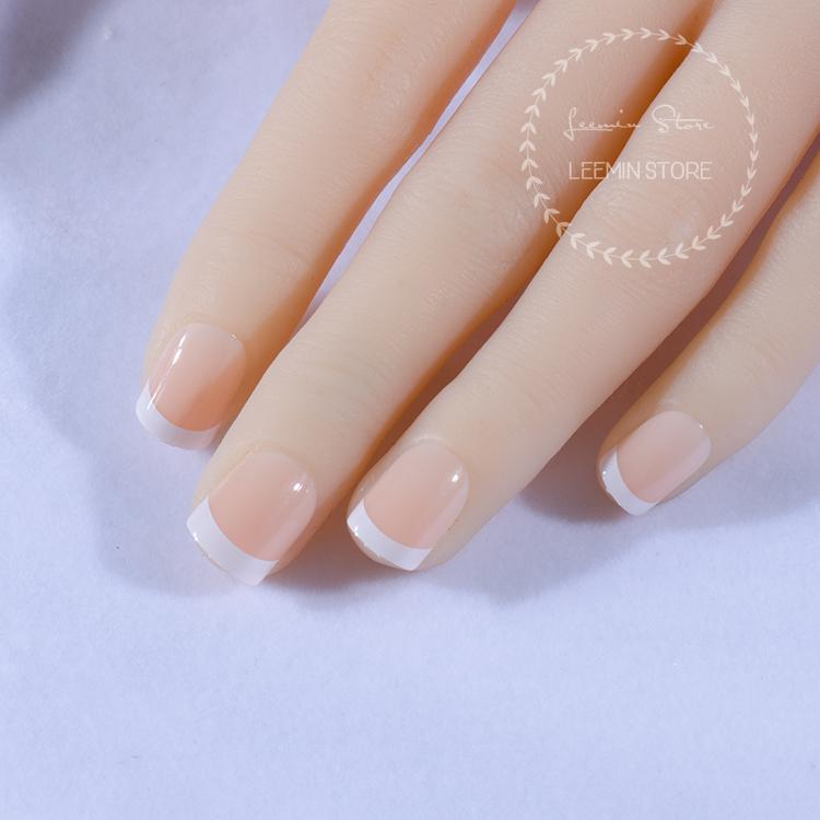 Wholesale- 2016 new white French style nails classic nails gentle nails for daily use