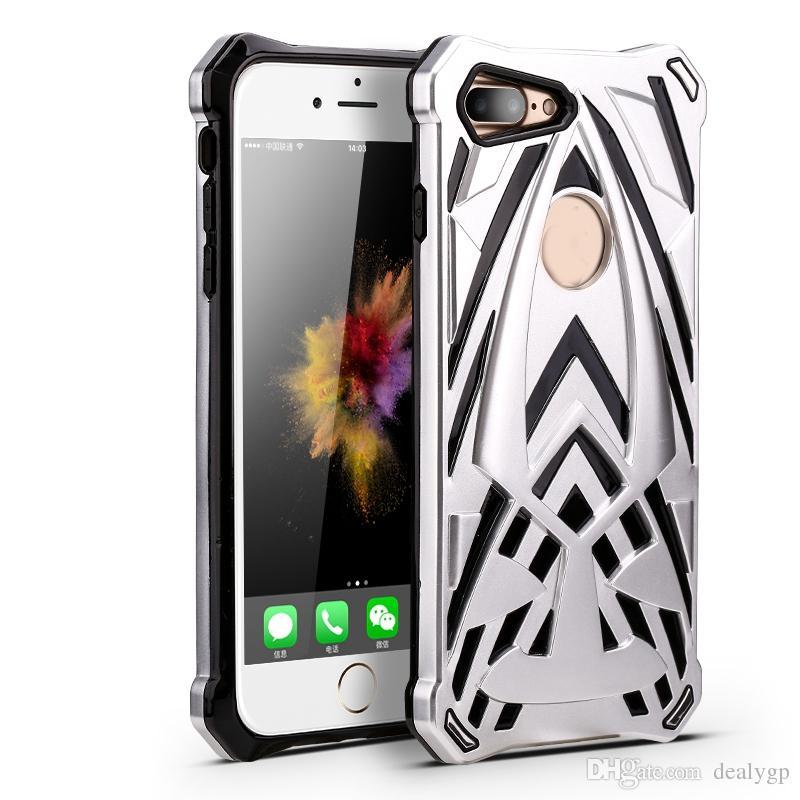 Darbeye Anti Kayma Koruyucu Kılıf Samsung S8 Artı S8 S7 Kenar S7 TPU PC Çift Katmanlı Cep Telefonu Kılıfı Kapak Opp Çant ...