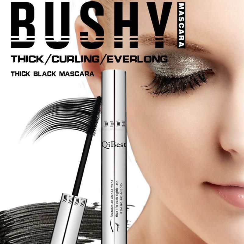 7afe74c1df8 QiBest Lash Power Extension Visible Thick Mascara Aluminum Waterproof Black  Thickening Mascaras Popular Dense Lengthening Eyelash Makeup Foundation  Makeup ...