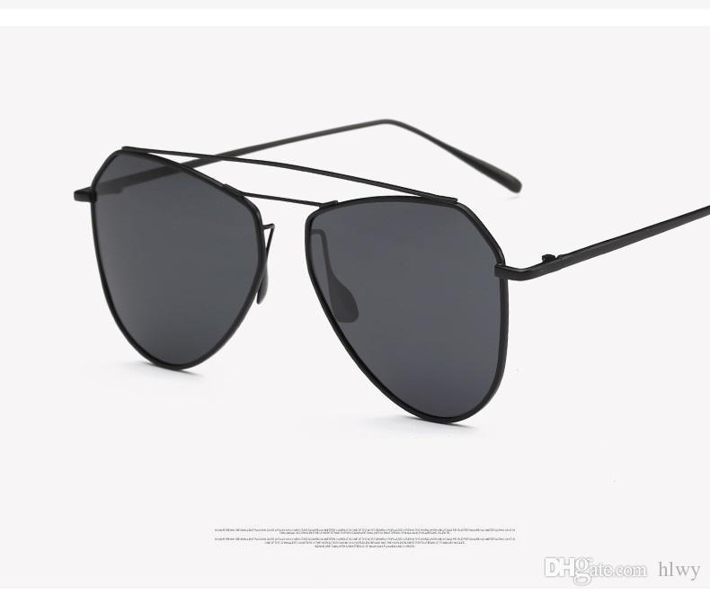 제조 업체의 선글라스는 새로운 패션 슈퍼 탄성 메모리 금속 편광 현혹 색 도금 필름 정말 8049 선글라스