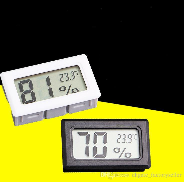 Nuovi metri di umidità calda incorporati in formato incorporato il display LCD di igrometro digitale elettronico T0722 W0.5