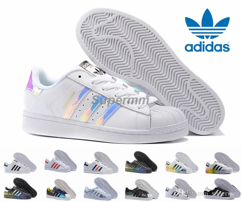 adidas superstar womens iridescent
