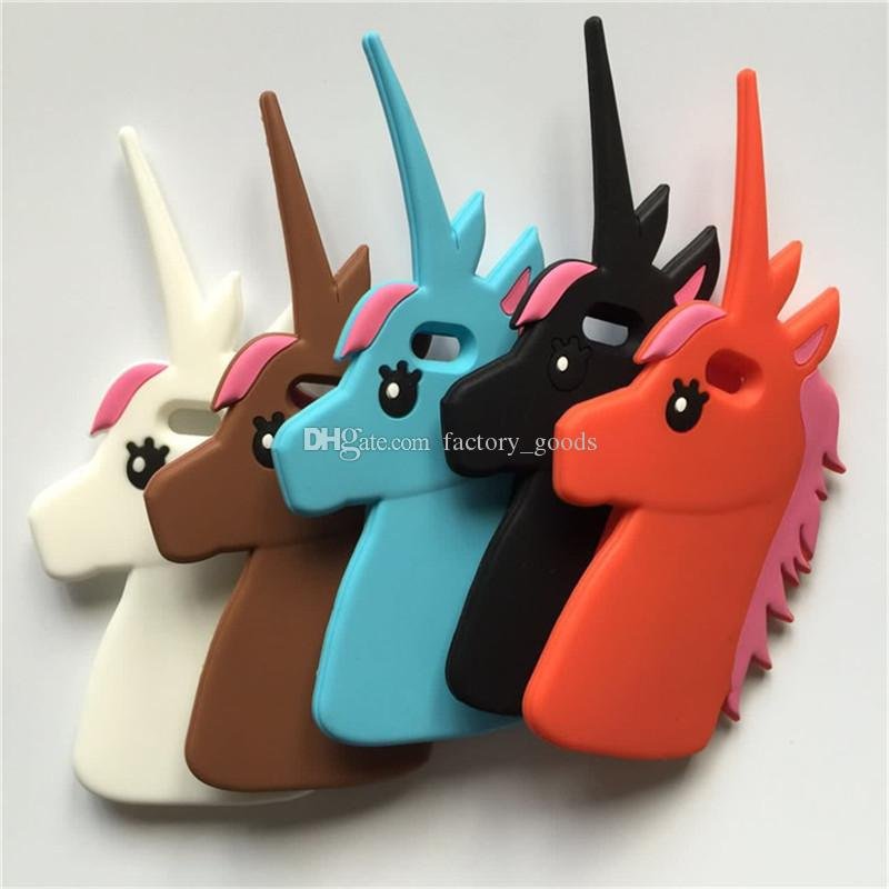 coque iphone 7 plus licorne 3d