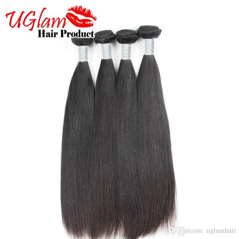 2017 Сексуальная Формула бразильский Виргинский волосы прямые углам лучшее качество бразильского человеческих волос ткет 4шт много Бесплатная доставка очень мягкий