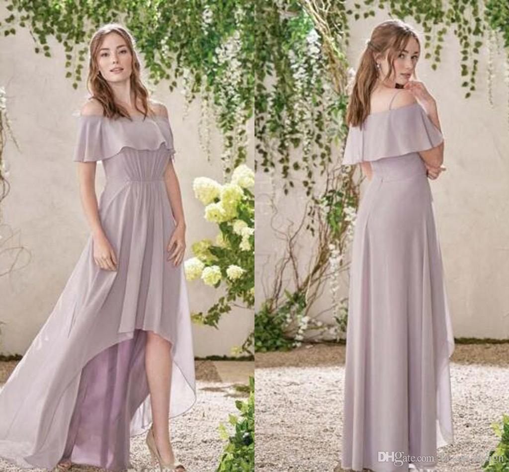2016 ruched bodice soft chiffon bridesmaid dresses lavender off 10 ombrellifo Gallery