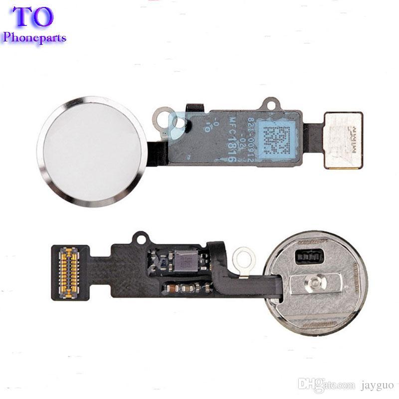 Neue 7G 7 Plus Home-Taste Flexkabel für iPhone 7 7 8 8 plus Home Key Cap Flex Montage Ersatzteile