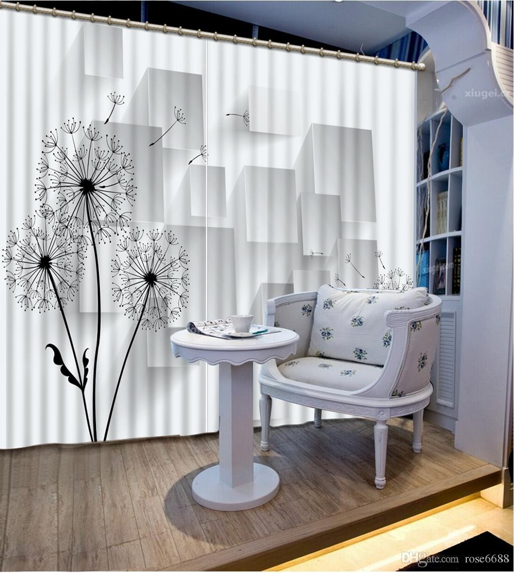 Großhandel Modern Home Custom Exterior Hausdekoration Vorhang 3d  Stereoskopischen Baum Vorhänge Wohnzimmer Fenster Von Rose6688, $199.4 Auf  De.Dhgate.