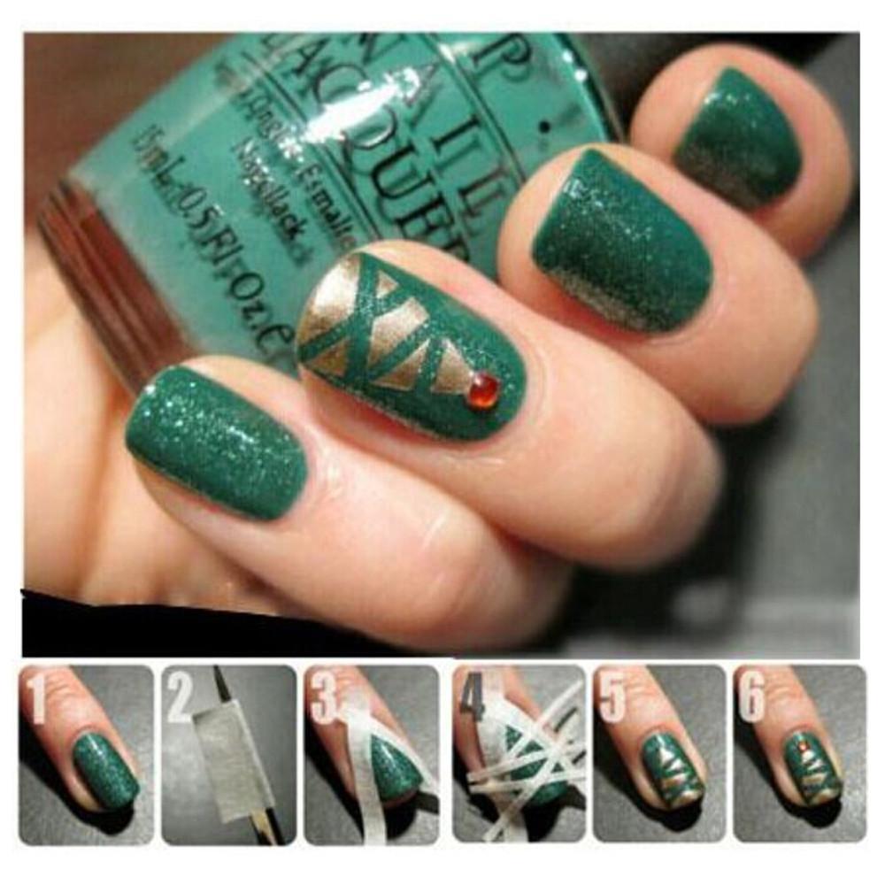 Wholesale Beauty Women\'S Fashion Nail Polish 17m*0.5cm French Style ...
