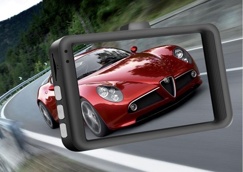 """New 3.0"""" CAR DVR D206 FHD1080P Car Camera Oncam Dash Camera120 Degree angle Dash Cam G-sensor Night Vision Video Recorder"""