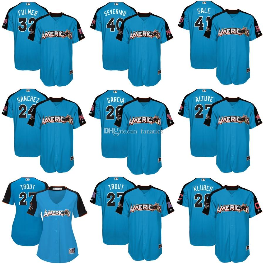 522286be3 mens american league houston astros 27 jose altuve majestic blue 2017 mlb  all star game authentic home run derby jersey