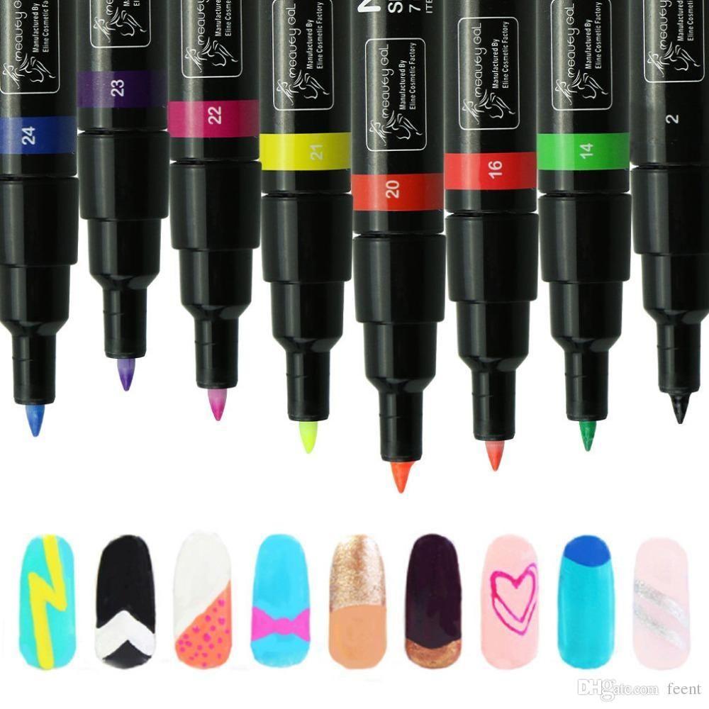 Wholesale Manicure 3d Drawing Pen Nail Art Pen For Diy Decoration Uv ...
