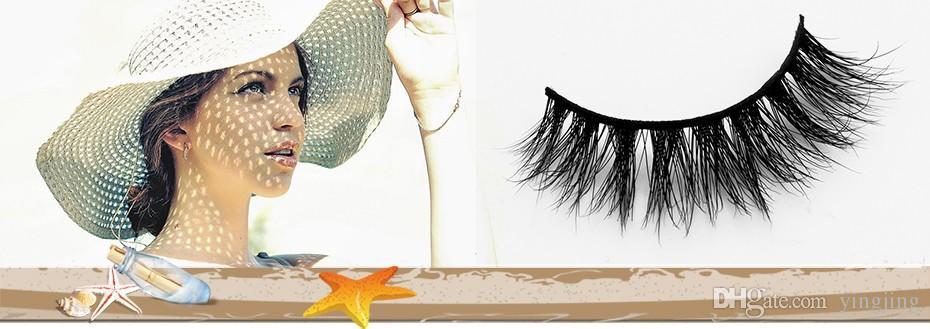Exaggerated False Eyelashes / Sets of Colorful Green Spotted Feathers False Eyelashes for Prty Makeup or Exaggerated Maquiagem