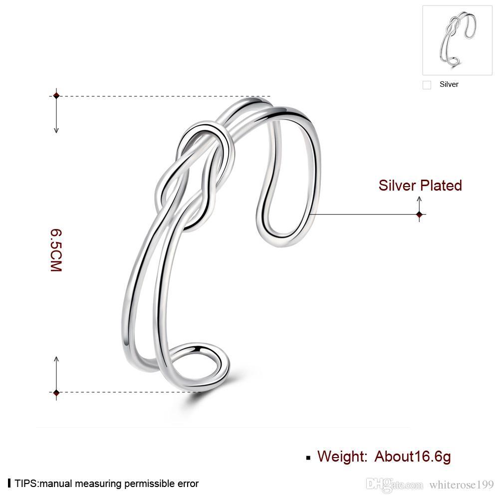 925 gioielli moda all'ingrosso braccialetto d'argento bella qualità dei gioielli buona B247