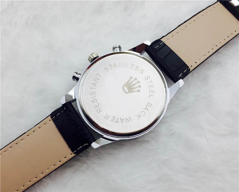 2017 nuovo modo di vendita di svago per il tempo libero di lusso top donne di marca diamante di cristallo orologi impermeabili signore bracciale in acciaio inossidabile rotazione