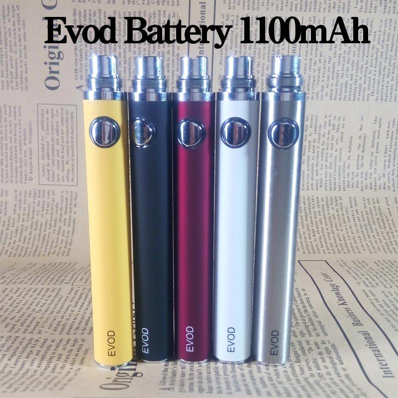 Electronic Cigarette Evod Battery 650mah 900mah 1100mah 1300mah Match Evod Mt3 Tank Ce4 Atomizer 510 Ego T Evod Twist Battery