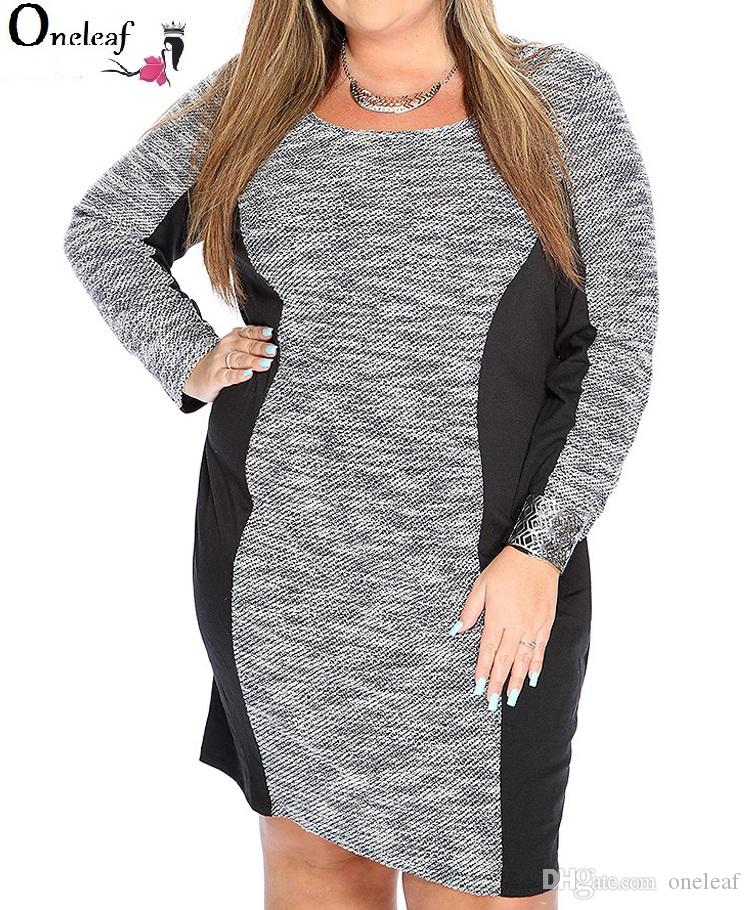 55f1f6d2661 Women Plus Size Dress Sexy 5 Different Styles V Neck