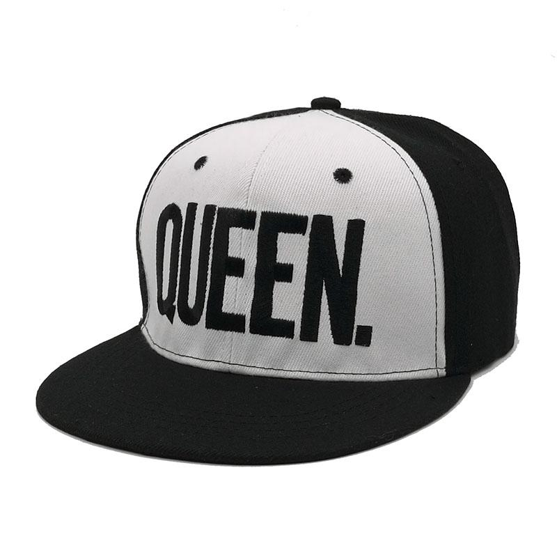 KING QUEEN Snapback Hat Acrylic Couple Baseball Cap Men Women Lovers Gifts  For Girl Boy Friends Hip Hip Cap Last Kings Casquette Hats For Sale  Neweracap ... 9542a875d4b1