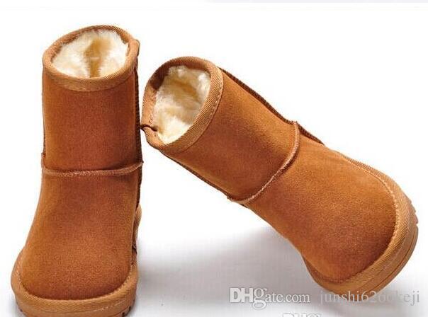 2017 towarowy wysokiej jakości damskie klasyczne wysokie buty dziecięce buty śniegowe buty zimowe