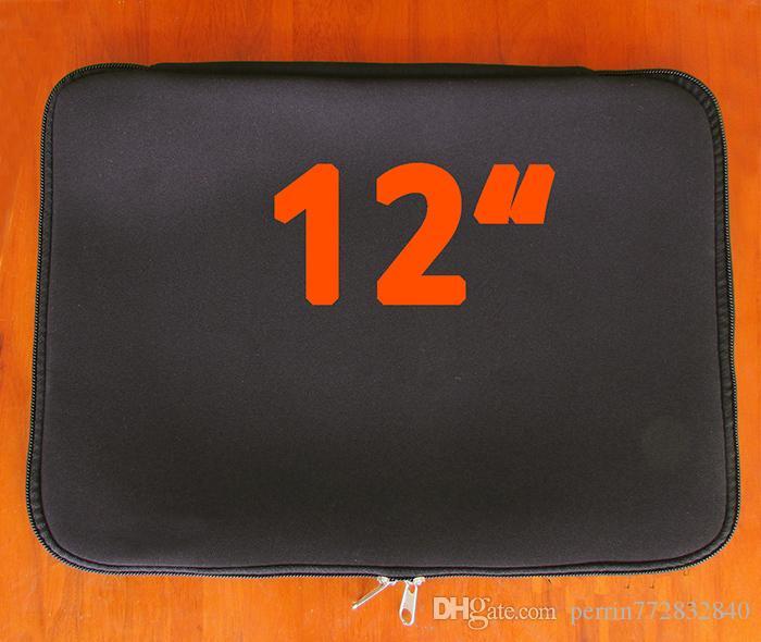 64d5a1f031 Acheter Noir 12.1 12 Ordinateur Portable Netbook Notebook Tablet Sac Souple  Housse Etui Housse Etui Pochette Protection Ordinateur Portable Bravoure De  ...