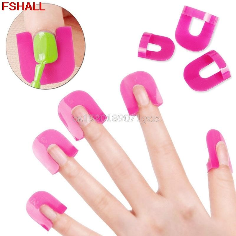 Wholesale Manicure Finger Nail Art Design Tips Cover Polish Shield ...