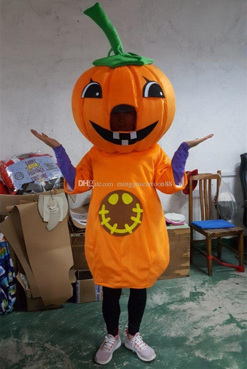pumpkin costume mascot cartoon parade halloween party proms adult outfit with high quality factory direct sale spartan mascot costumes mascot costumes