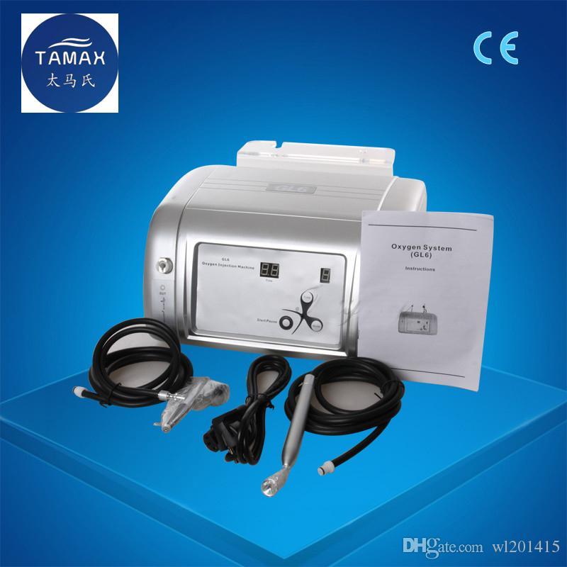 المحمولة آلة الأكسجين المياه جيت قشر 99٪ الأكسجين النقي الوجه آلة حقن الأكسجين إزالة حب الشباب علاج الجلد تجديد OX002