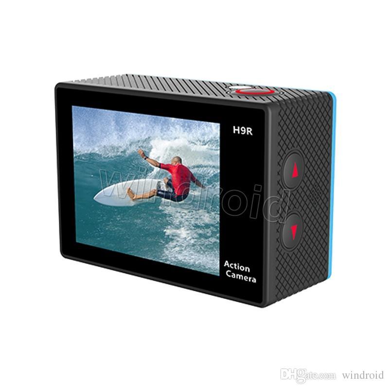 cámara de acción original EKEN H9 H9R con mando a distancia 2.0 LCD de la cámara 4K Ultra HD 1080P HDMI de WiFi 170D Pro Sports impermeable con caja al por menor