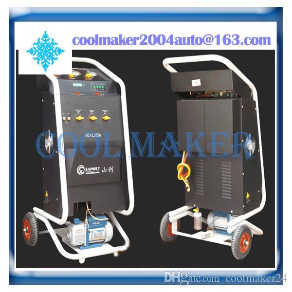 Macchine di riciclaggio del refrigerante di CA del refrigeratore automatico automatico completo di alta efficienza delle macchine di riciclaggio del refrigerante della macchina