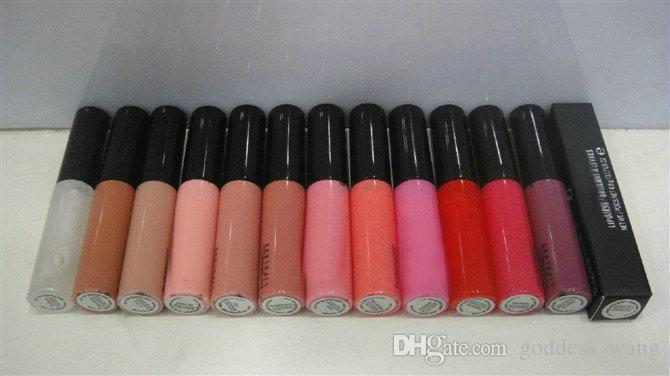 Vendita calda buona qualità Più bassa Best-Selling buona vendita Nuovo prodotto Più recente Lip Gloss Dodici colori diversi 12 pezzi
