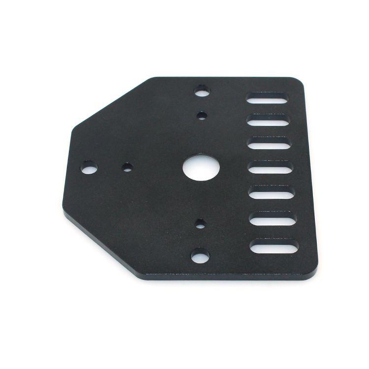 Бесплатная доставка 10 шт. / лот DIY Prusa i3 3D принтер 3D принтер часть стержня пластины для Nema23 для Openbuilds V-слот с 80 * 72*3 мм для CNCKossel