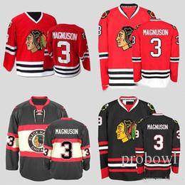 23575bfe1 CCM Chicago Blackhawks Hockey Jerseys  3 Keith Magnuson Jerseys ...