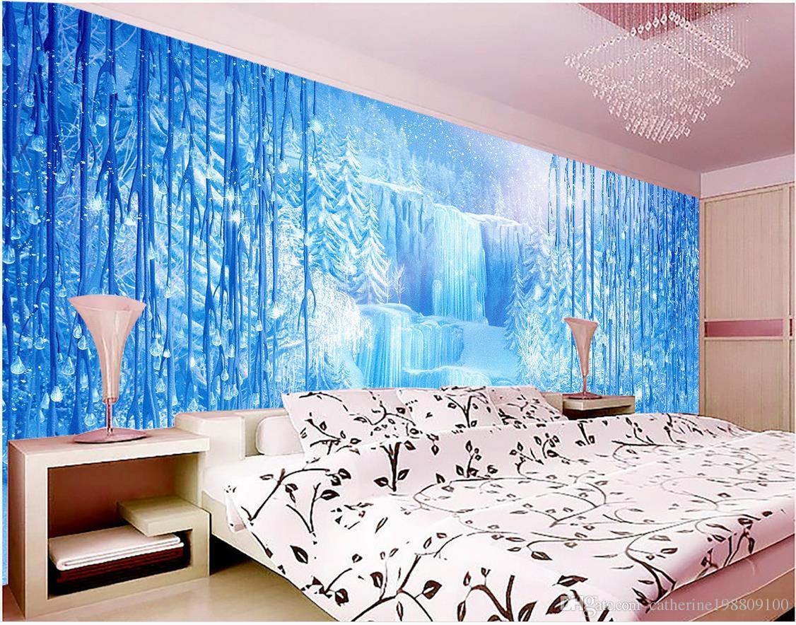 Mural 3d wallpaper 3d wall papers for tv backdrop fashion for Best 3d wallpaper for bedroom