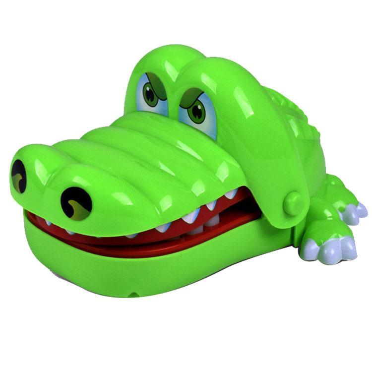 Creative Novelty Prank Dentist Bite Finger Interactive Board Game Shark Crocodile Dog Joke Toys Party Game for Adults and Kids